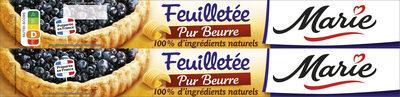 Pâte à tarte feuilletée - Pur beurre - Prodotto - fr
