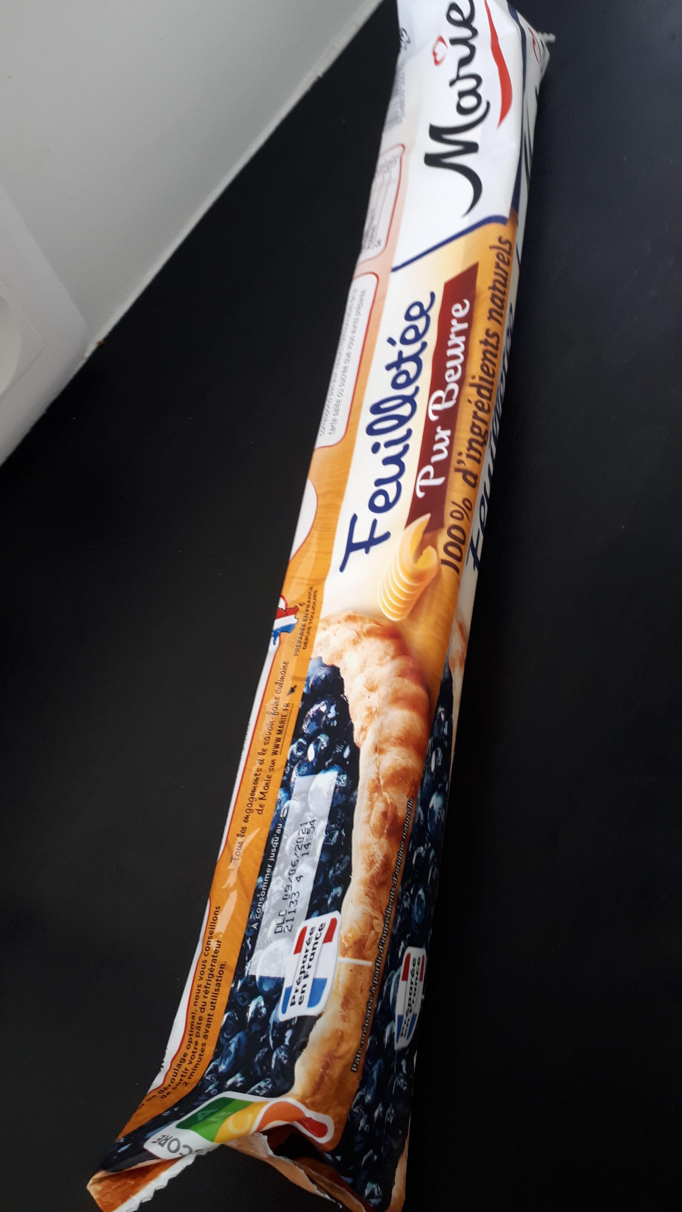 Pâte à tarte feuilletée - Pur beurre - Valori nutrizionali - fr