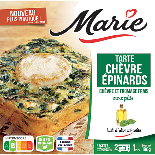 Tarte Chèvre épinard - Product