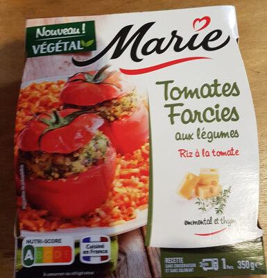 Tomates Farcies aux légumes Riz à la tomate s0 - Produit
