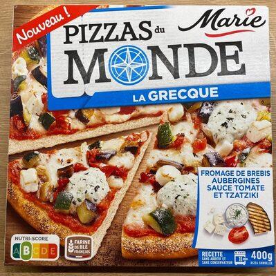 Pizzas du monde La grecque - Product - fr