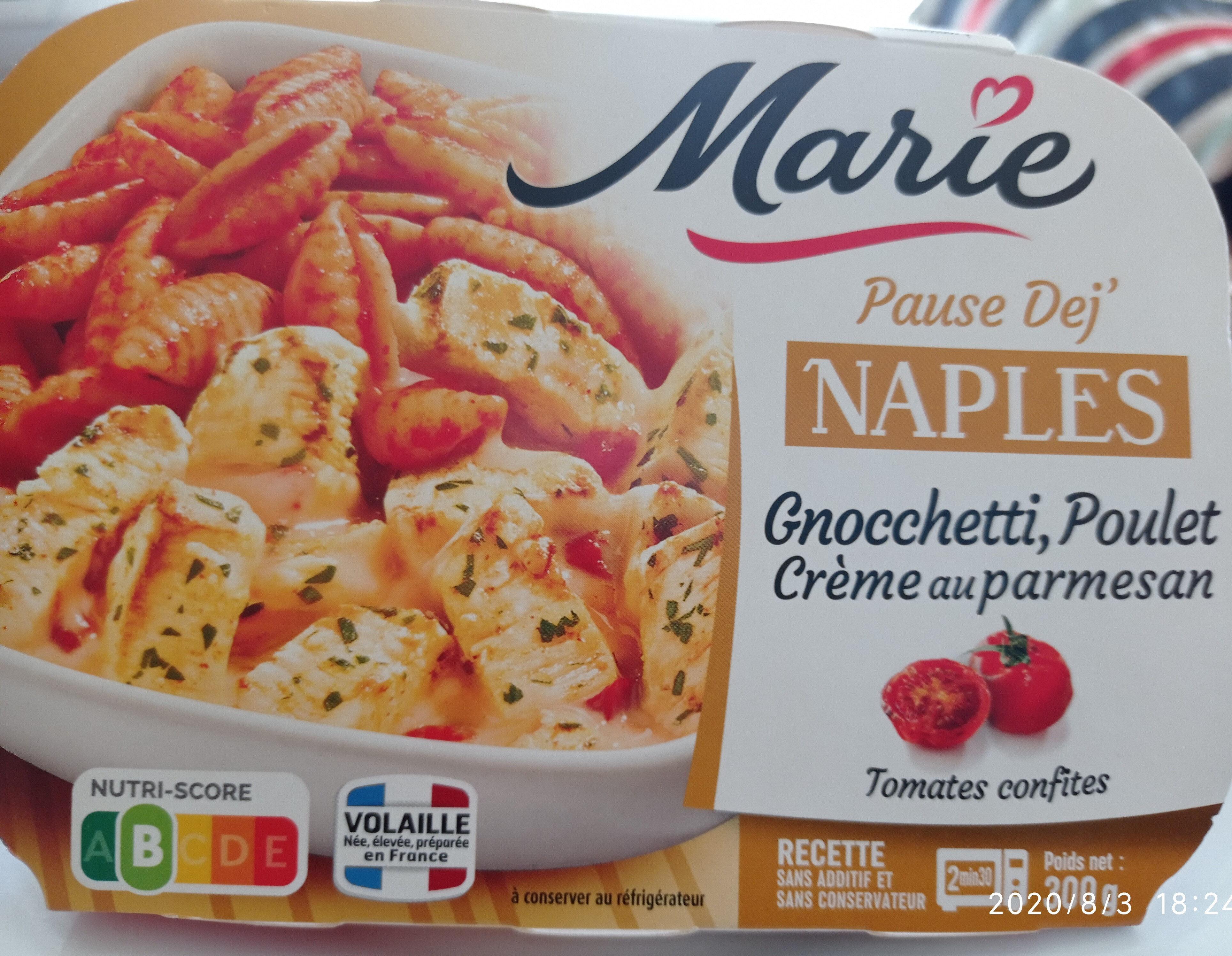 NAPLES - Gnocchetti poulet crème parmesan - Produit - fr