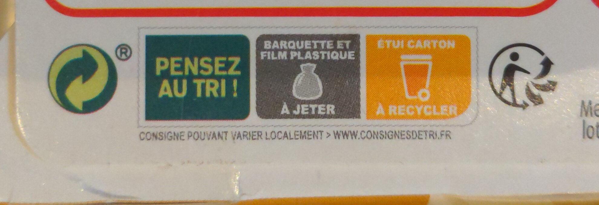 NAPLES - Gnocchetti poulet crème parmesan - Instruction de recyclage et/ou informations d'emballage - fr