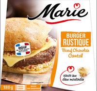Burger Rustique - Bœuf Charolais Moutarde - Produit - fr