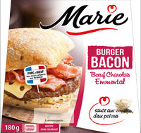 Burger Bacon 180g - Product