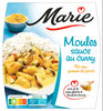 Moules sauce au Curry & riz aux graines de pavot - Product
