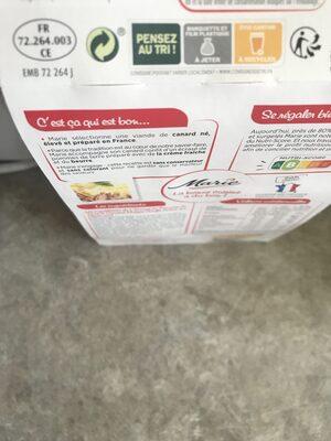 Moules sauce au Curry & riz aux graines de pavot - Recyclinginstructies en / of verpakkingsinformatie - fr
