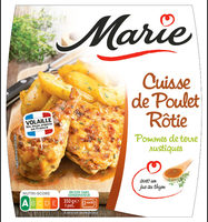 Cuisse de poulet, Jus au thym & PDT rustiques - Product - fr