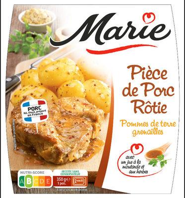 Piece de Porc, Pomme de terre grenailles - Product - fr