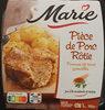 Pièce de porc rôtie, Jus à la moutarde & aux herbes et PDT grenailles - Produit