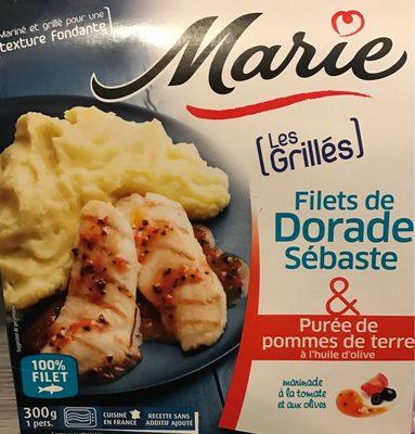 Filets de Dorade Sebaste & Purée de pommes de terre à l'huile d'olive - Product