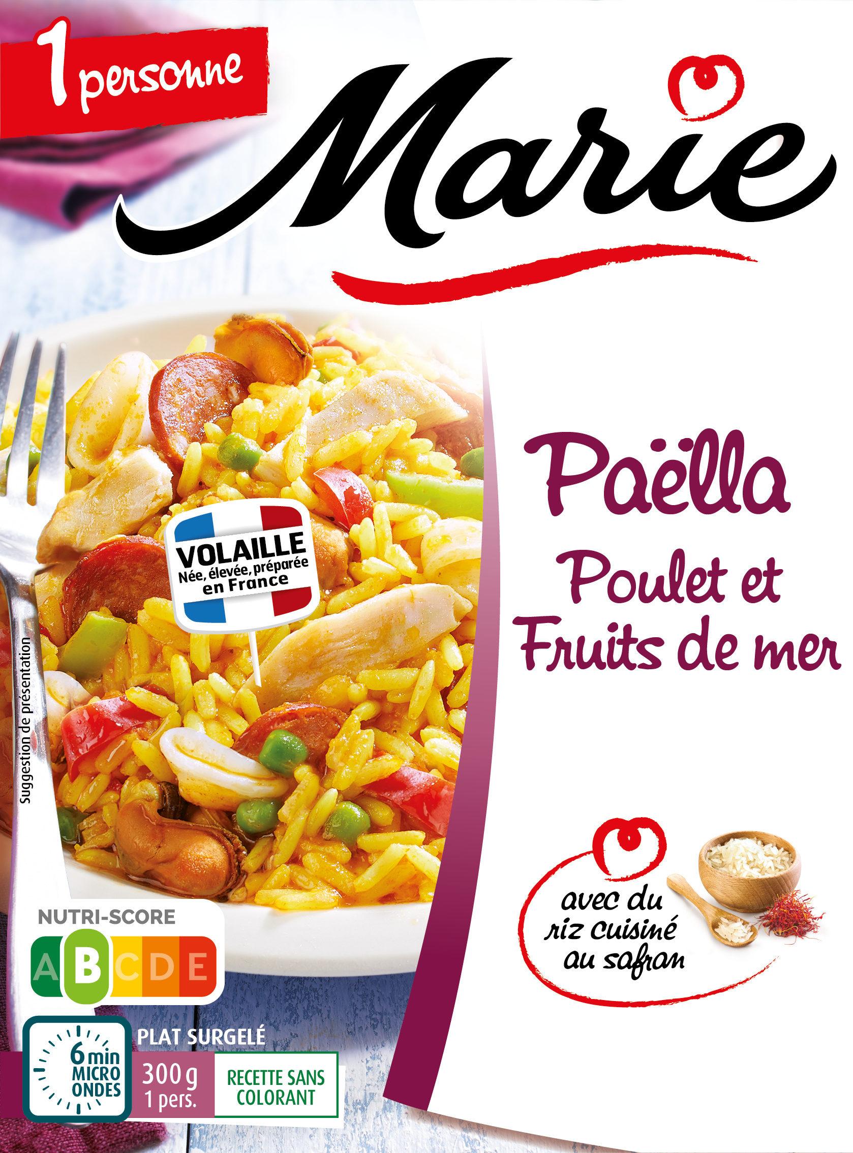 Paella Poulet Et Fruits De Mer Marie 300 G