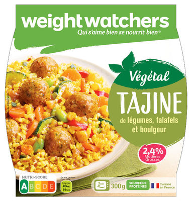 Tajine de légumes, falafels et boulgour - Produit