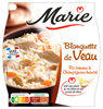 Blanquette de veau, riz et carottes - Produit