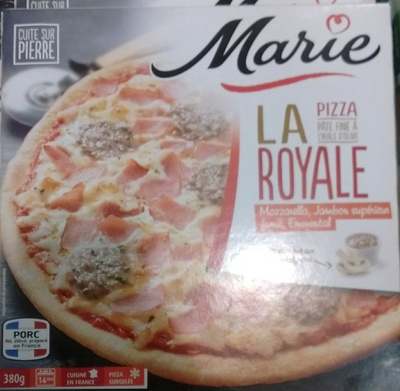 La Pizza Royale - Produit