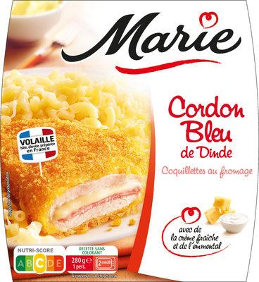 Cordon Bleu de Dinde, Coquillettes - Product