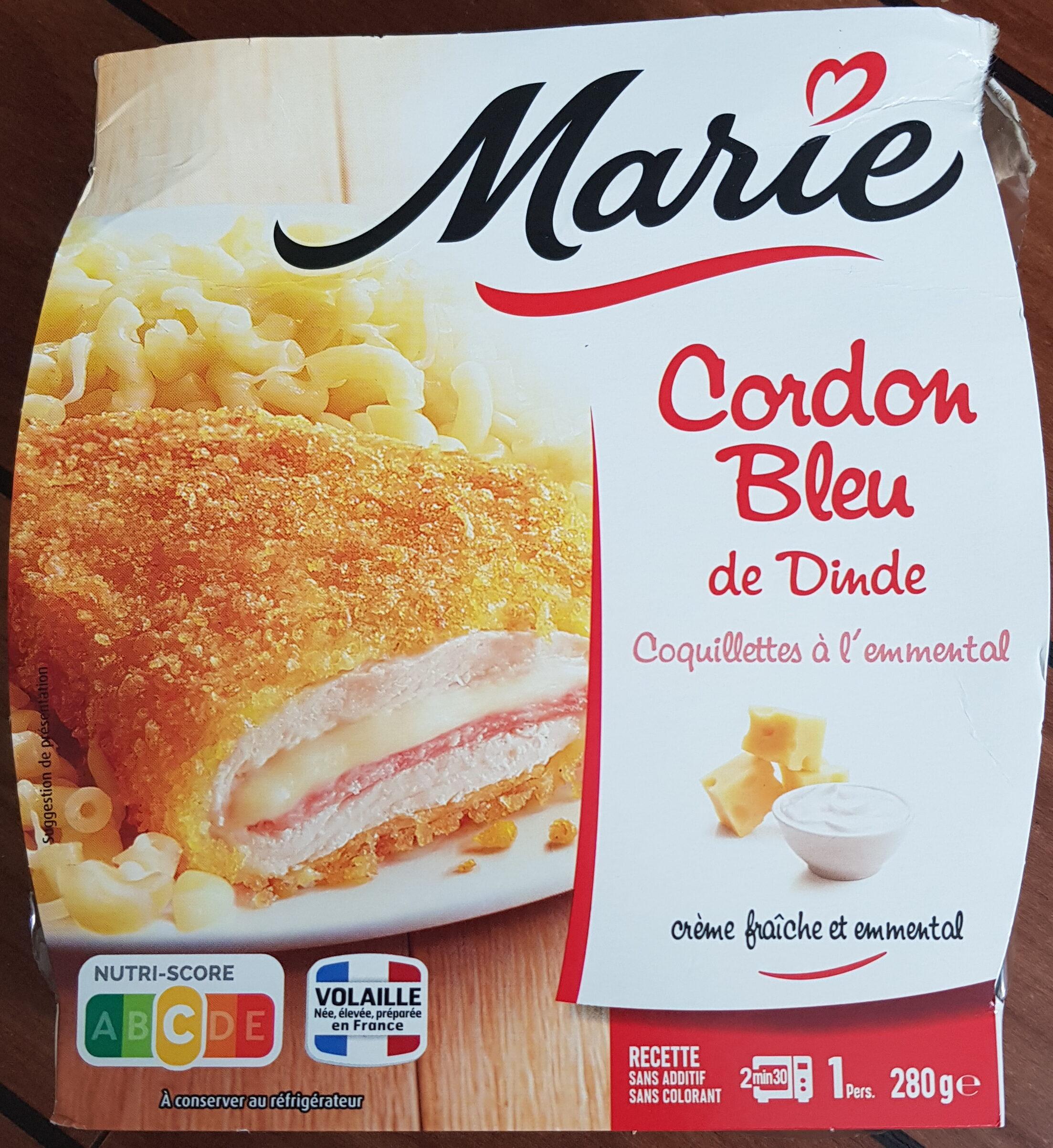 Cordon bleu coquillettes au fromage - Produit - fr