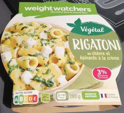 Rigatoni au chèvre et épinards à la crème - Product - fr