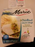 Cabillaud sauce vierge, Écrasé de Pommes de terre - Produit - fr