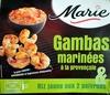 Gambas marinées à la provençale & Riz jaune aux 2 poivrons - Product