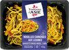 Pâtes cuisinées à la chinoise et aux légumes - Produit