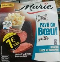 Pavé de Bœuf grillé & Rigatoni sauce au roquefort - Product - fr