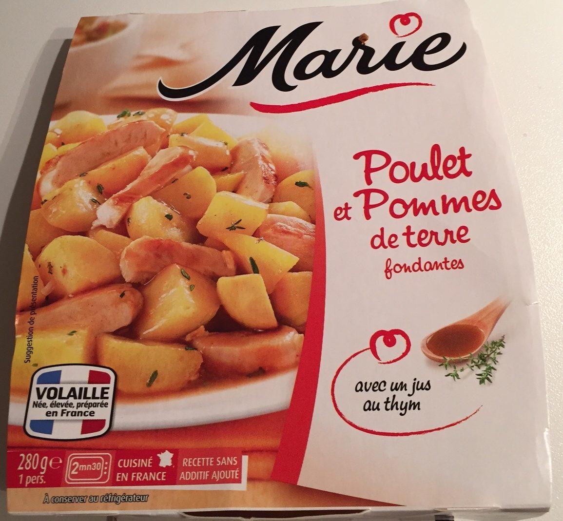 Poulet et pommes de terre fondantes - Produit - fr