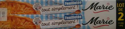Pâte à Tarte Feuilletée Tout Simplement - Produit - fr