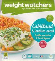 Cabillaud et lentilles corail - Product - fr