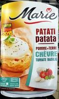 Patati Patata, Pomme de Terre Chèvre Tomate Basilic - Produit - fr
