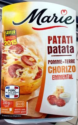 Patati Patata, Pomme de terre Chorizo Emmental - Produit - fr
