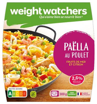 Paella au Poulet - Produit - fr