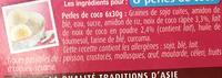 Perles de coco - Ingredients - fr