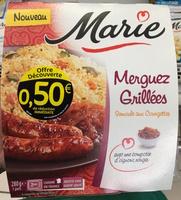 Merguez Grillées Semoule aux Courgettes - Produit - fr