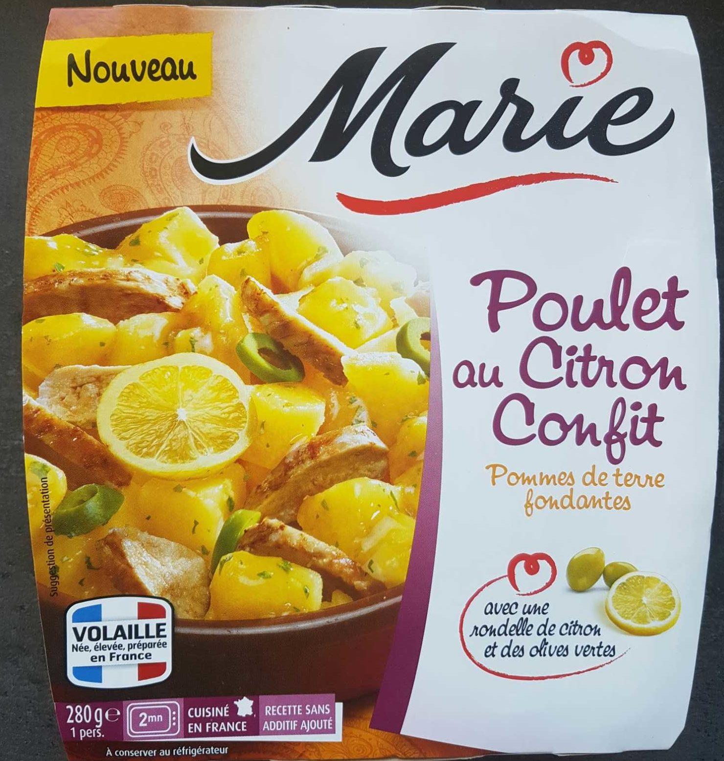 Poulet au citron confit - Product - fr