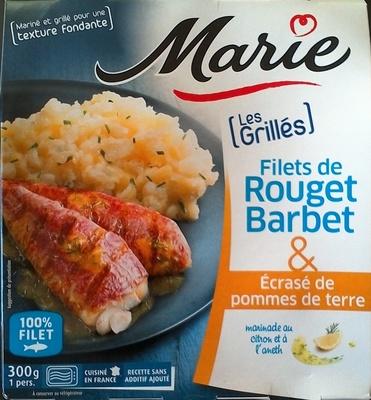 Filet de Rouget Barbet & Ecrasé de pommes de terre - Product - fr