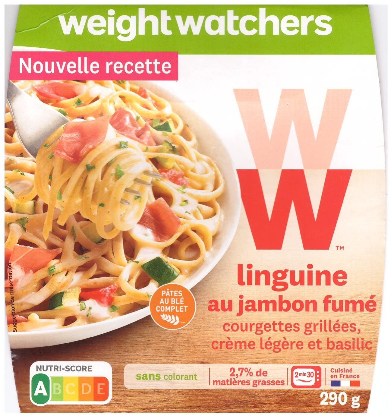 Linguine au jambon fumé - Product - fr