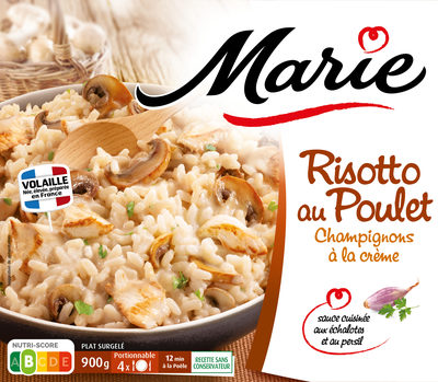 Risotto poulet champignons 900g - Product