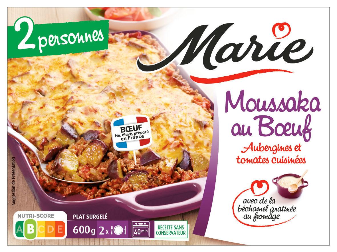 Moussaka au Boeuf (600g) - Produit