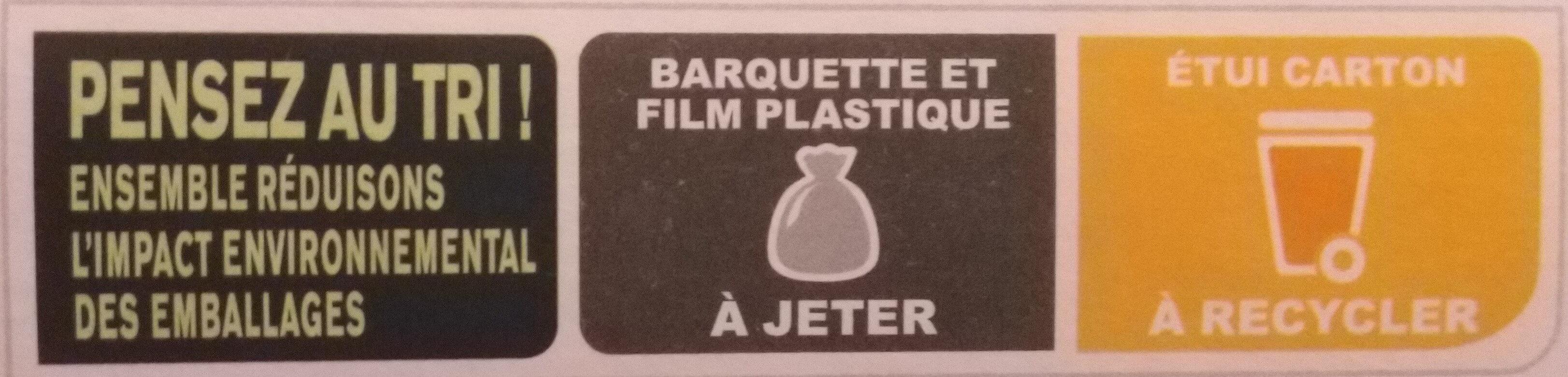 Moussaka - Instruction de recyclage et/ou informations d'emballage - fr