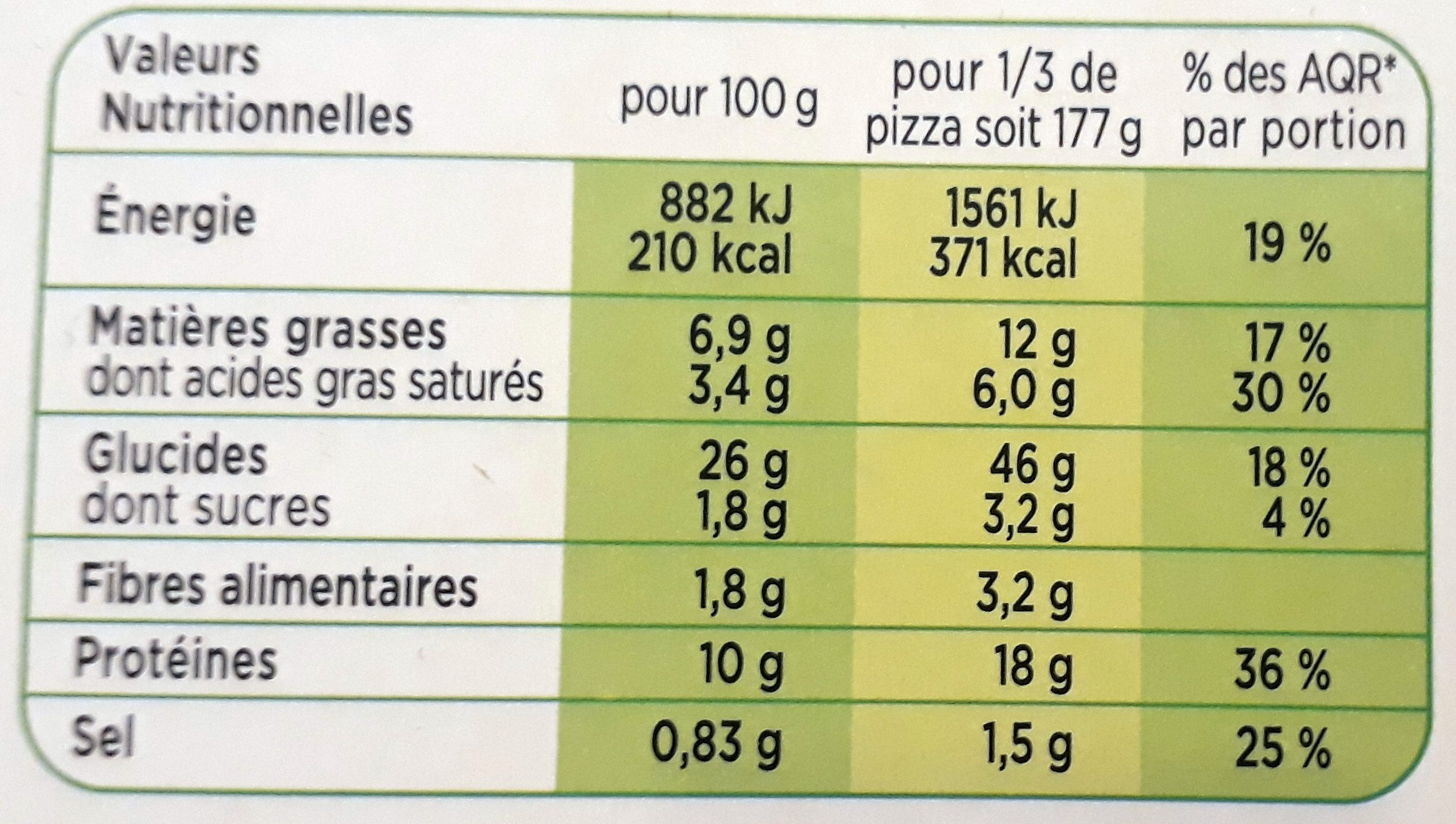 CroustiMoelleuse Extreme Americaine - Nutrition facts
