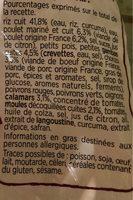 Paëlla royale aux petites gambas et au safran - Ingrédients - fr