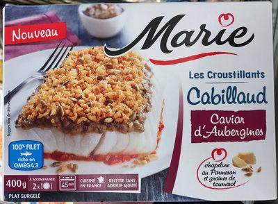 Les Croustillants Cabillaud Caviar d'Aubergines - Product