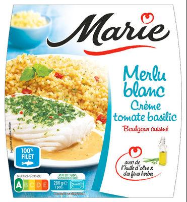 Merlu Blanc, Crème tomate basilic, Boulgour cuisine - Product