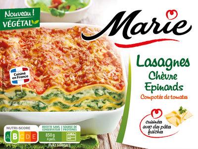 Lasagnes chèvre épinards - Produit