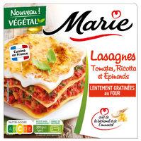 Lasagnes Tomates, Ricotta et Epinards - Product - fr