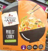 Poulet Curry et Riz Basmati - Produit