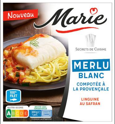 Merlu Blanc, Compotée a la provencal, Linguine au safran - Product