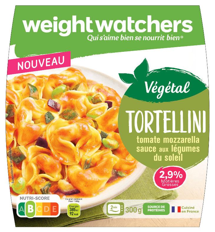 Tortellini tomate Mozzarella, sauce aux légumes du soleil - Produit