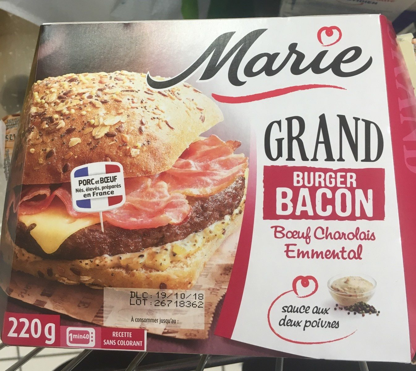 Grand Burger Bacon - Product